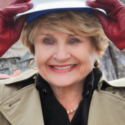 Author Louise Slaughter