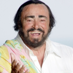 Author Luciano Pavarotti