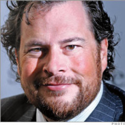 Author Marc Benioff