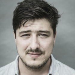 Author Marcus Mumford