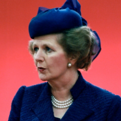 Author Margaret Thatcher
