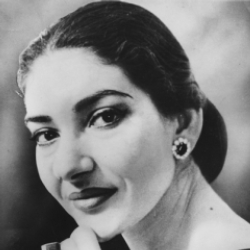 Author Maria Callas