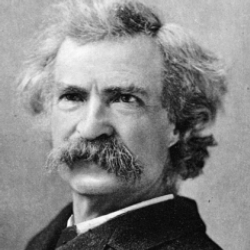 Author Mark Twain