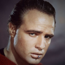 Author Marlon Brando