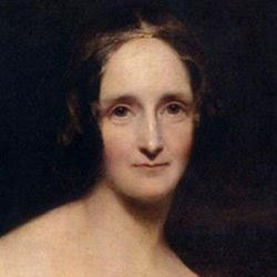 Author Mary Shelley
