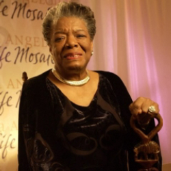 Author Maya Angelou