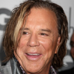 Author Mickey Rourke