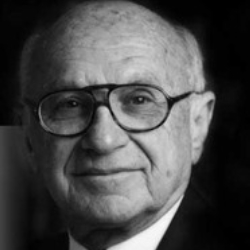 Author Milton Friedman