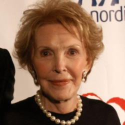 Author Nancy Reagan
