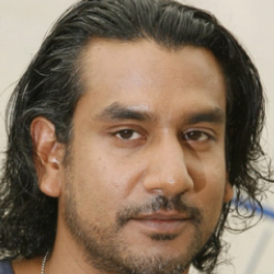 Author Naveen Andrews
