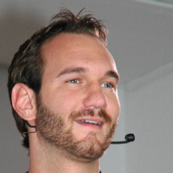 Author Nick Vujicic