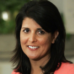Author Nikki Haley