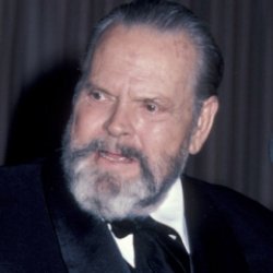 Author Orson Welles