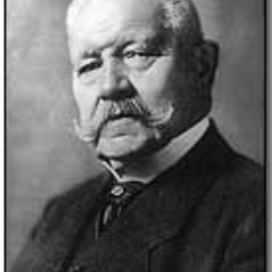 Author Paul von Hindenburg