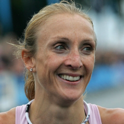 Author Paula Radcliffe