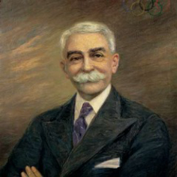 Author Pierre de Coubertin