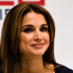 Author Queen Rania of Jordan