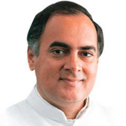 Author Rajiv Gandhi