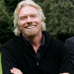 Author Richard Branson