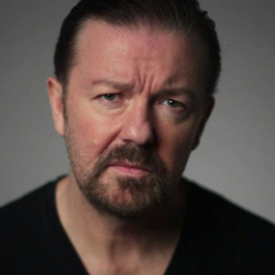 Author Ricky Gervais