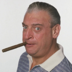 Author Rodney Dangerfield