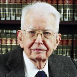 Author Ronald Coase