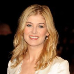 Author Rosamund Pike
