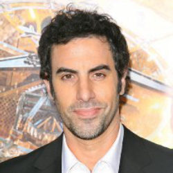 Author Sacha Baron Cohen