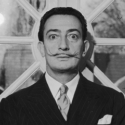 Author Salvador Dali
