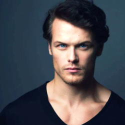 Author Sam Heughan