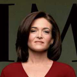 Author Sheryl Sandberg