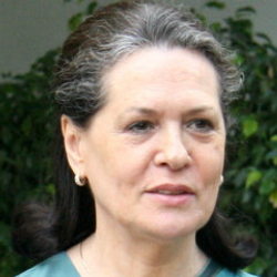 Author Sonia Gandhi