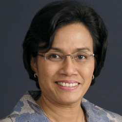 Author Sri Mulyani Indrawati