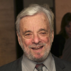 Author Stephen Sondheim