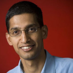 Author Sundar Pichai