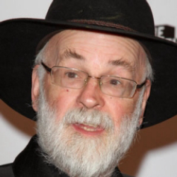 Author Terry Pratchett