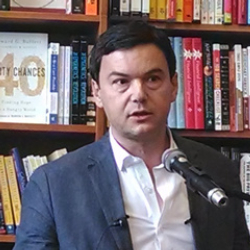 Author Thomas Piketty