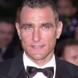 Author Vinnie Jones