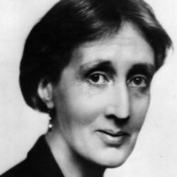 Author Virginia Woolf