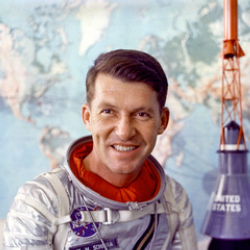 Author Wally Schirra