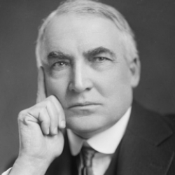 Author Warren G. Harding