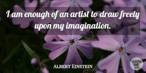 Inspirational Quotes, Albert Einstein Quote About Love, Inspirational, Life: I Am Enough Of An...
