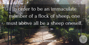 Inspirational Quotes, Albert Einstein Quote About Love, Inspirational, Life: In Order To Be An...