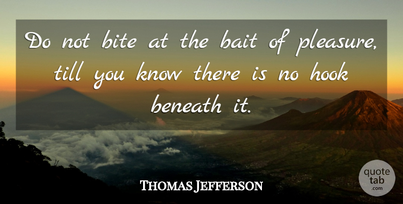 Thomas Jefferson Quote About Motivational, Truth, Freedom: Do Not Bite At The...