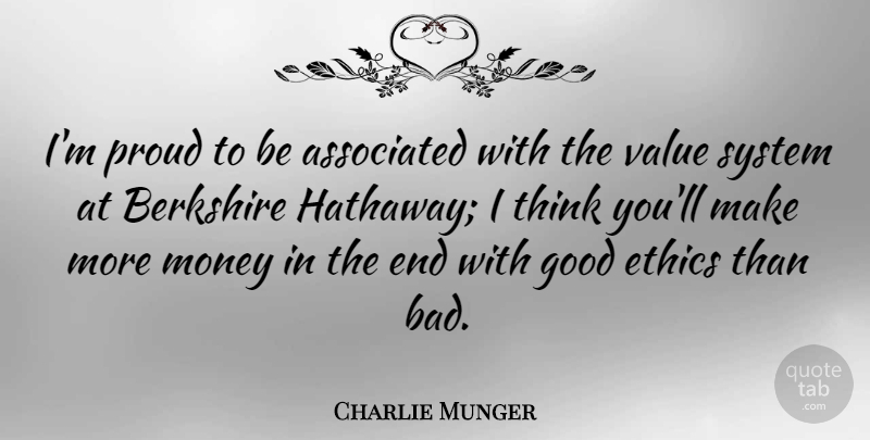 Charlie Munger: I\'m proud to be associated with the value ...