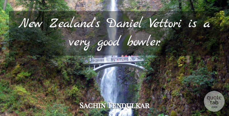 Sachin Tendulkar Quote About Sports, Bowlers, Very Good: New Zealands Daniel Vettori Is...