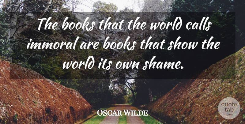 Oscar Wilde Quote About Inspirational, Book, Anger: The Books That The World...