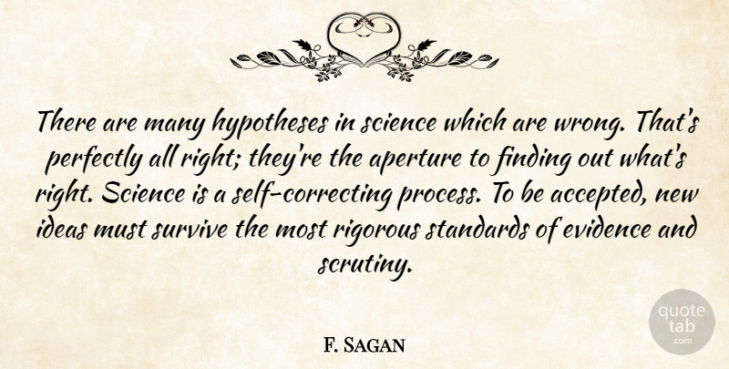 Carl Sagan Quote About Truth, Self, Aperture: There Are Many Hypotheses In...