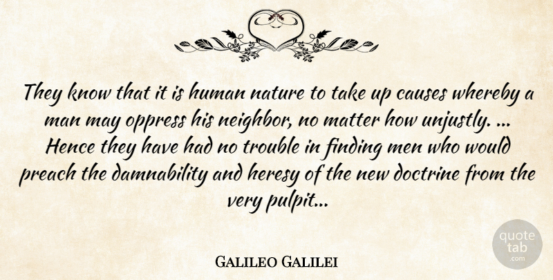 Galileo Galilei Quote About Men, Religion, May: They Know That It Is...