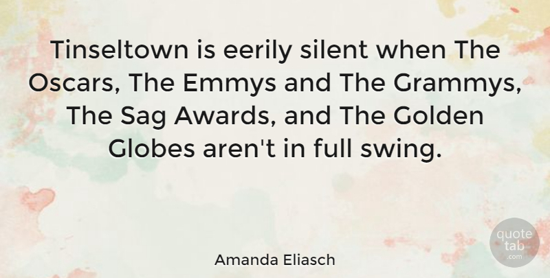 Amanda Eliasch Quote About Emmys, Full: Tinseltown Is Eerily Silent When...
